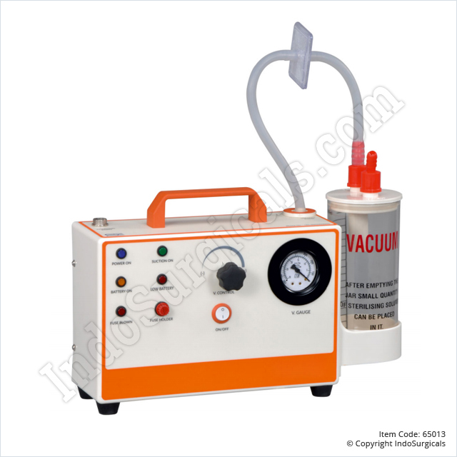 Suction Unit - AC/DC, ABS (30 Ltrs./Min)