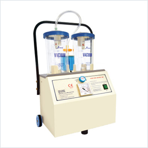 Suction Unit - Dual Power - (45 Ltrs./min) (Electric cum Manual)