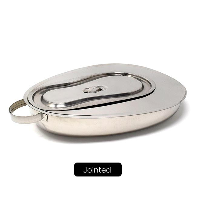 Bed Pan with Lid, Female (Perfection type) Supplier