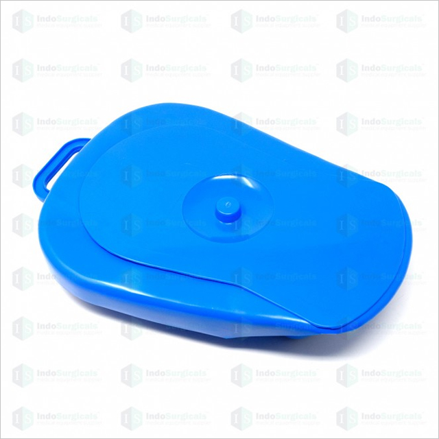 Bedpan With Lid AUTOCLAVABLE Polypropylene for Unisex Adults