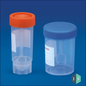 Stool Container, Polypropylene (PP)