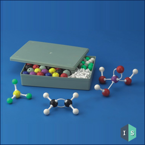 Plastic Atomic Models Set (Euro Design)