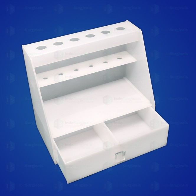 Micropipette Stand with Drawer