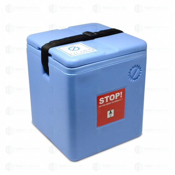 Large Vaccine Carrier Box with 4 Ice Packs (2.46 Litre) Manufacturer