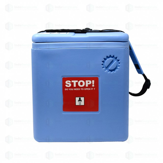 Large Vaccine Carrier Box with 4 Ice Packs (2.46 Litre) Supplier