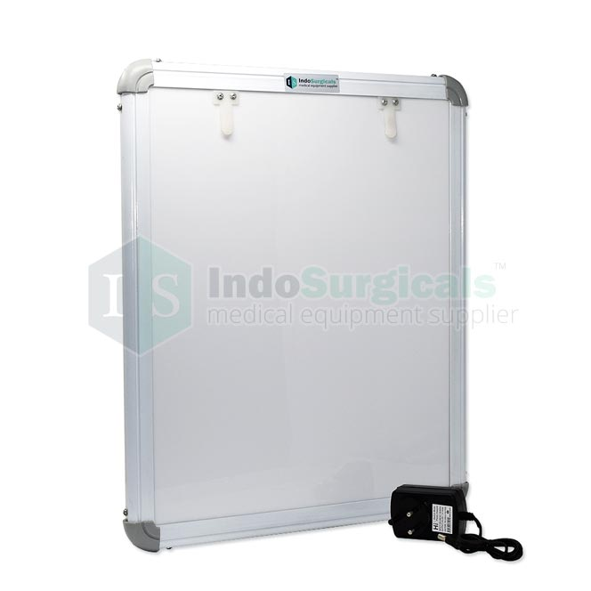 LED X-Ray View Box with Automatic Film Activation and Variable Brightness Control