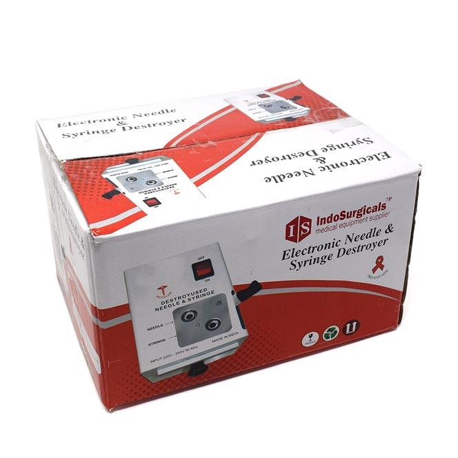 Needle & Syringe Destroyer (Electric cum Manual) Supplier