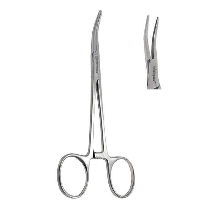 Kelly Forceps Curved Supplier