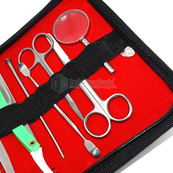 Dissecting Instruments Set (Set of 13 Pcs.) Supplier