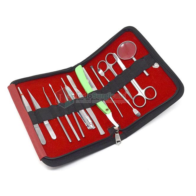 Dissecting Instruments Set (Set of 13 Pcs.) Manufacturer, Supplier & Exporter