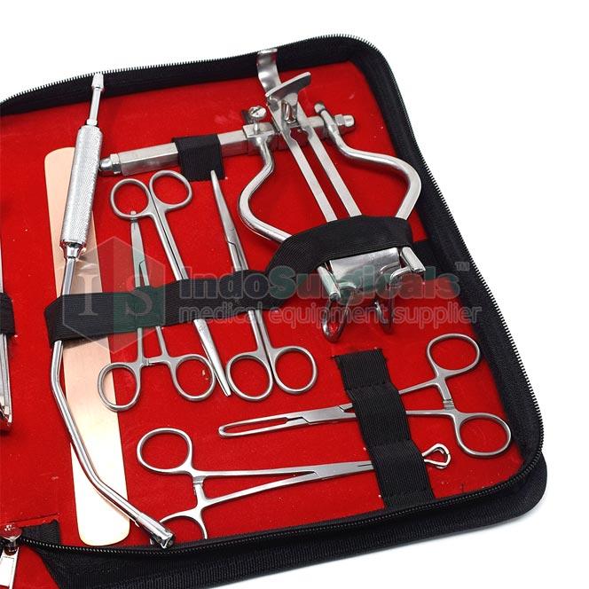 Laparotomy Pediatric Instruments Kit Supplier