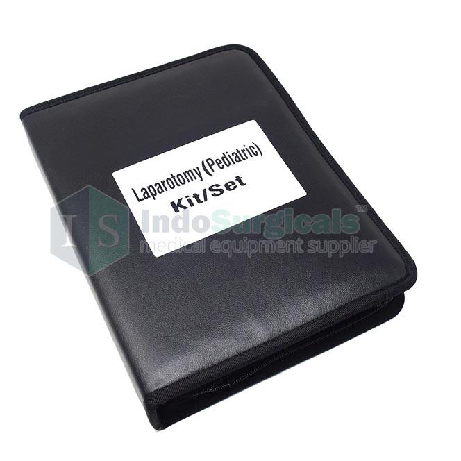 Laparotomy Pediatric Instruments Kit Exporter