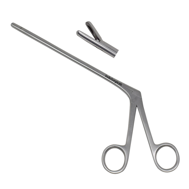 Disc Punch Forceps (Serrated) Straight Supplier
