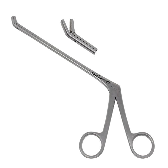 Disc Punch Forceps (Serrated) Up Supplier