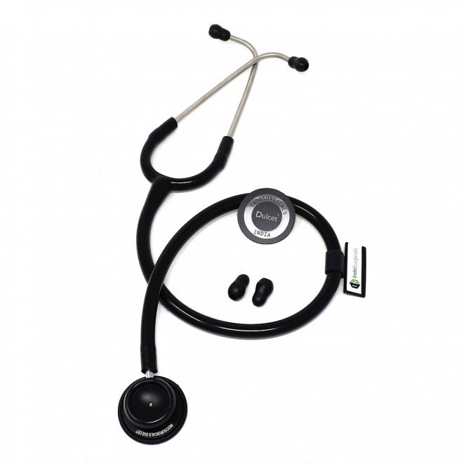 IndoSurgicals Dulcet Black Stethoscope Manufacturer
