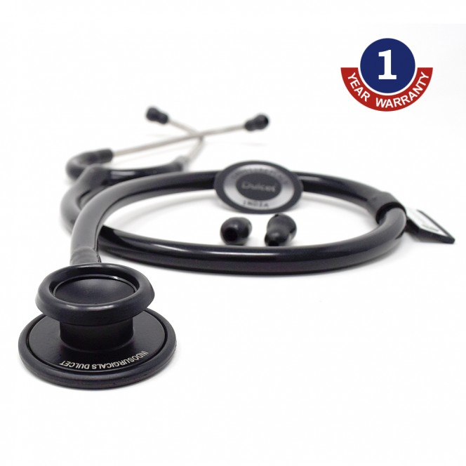 IndoSurgicals Dulcet Black Stethoscope